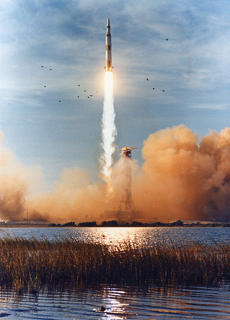 Apollo 8 liftoff