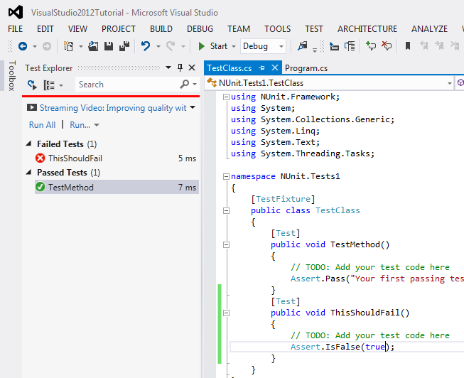 nunit-running-in-vs2012